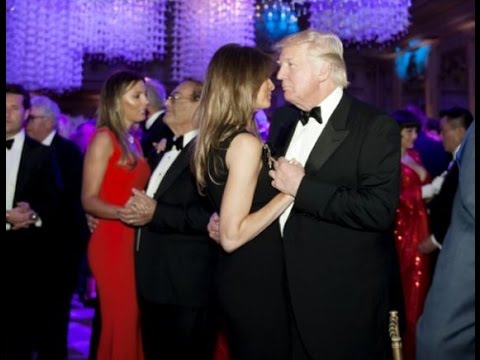 ef975ca988 Donald Trump's New Year's Eve party at Mar-a-Lago - YouTube