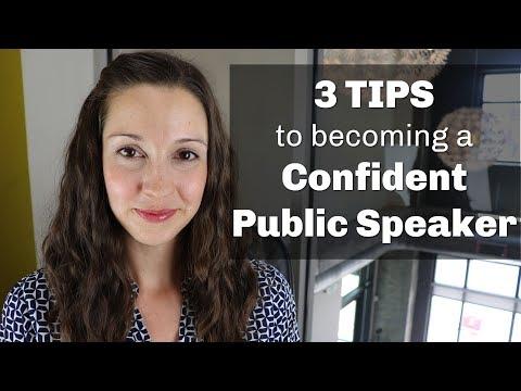 Confident Public Speaking Skills