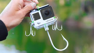 World's FIRST GOPRO FISHING LURE! (Actually Works!)