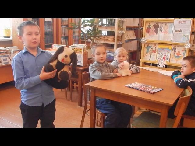 Изображение предпросмотра прочтения – БыданцевМаксим читает произведение «Кошкин щенок» В.Д.Берестова