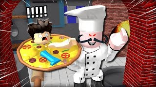 잡히면 피자 될거에요 요리사가 미쳤어 로블록스 탁주 쪼꼬