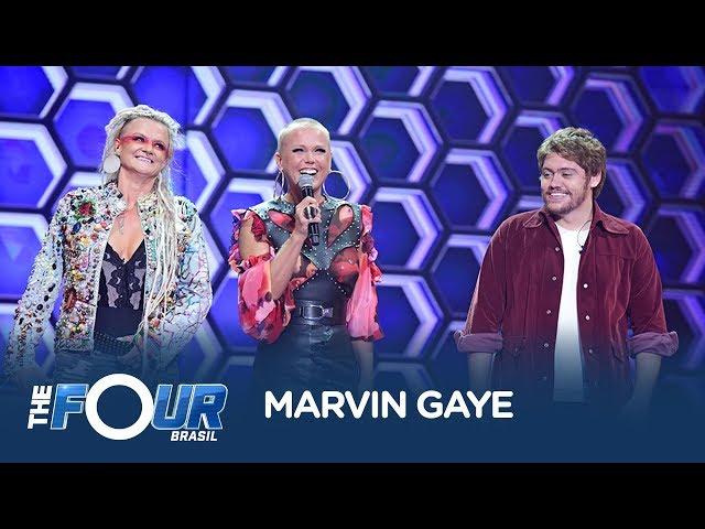 Leo Mahuad arranca elogios ao cantar sucesso de Marvin Gaye no The Four Brasil