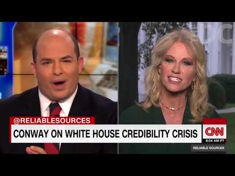Kellyanne Conway RIPS CNN's Brian Stelter