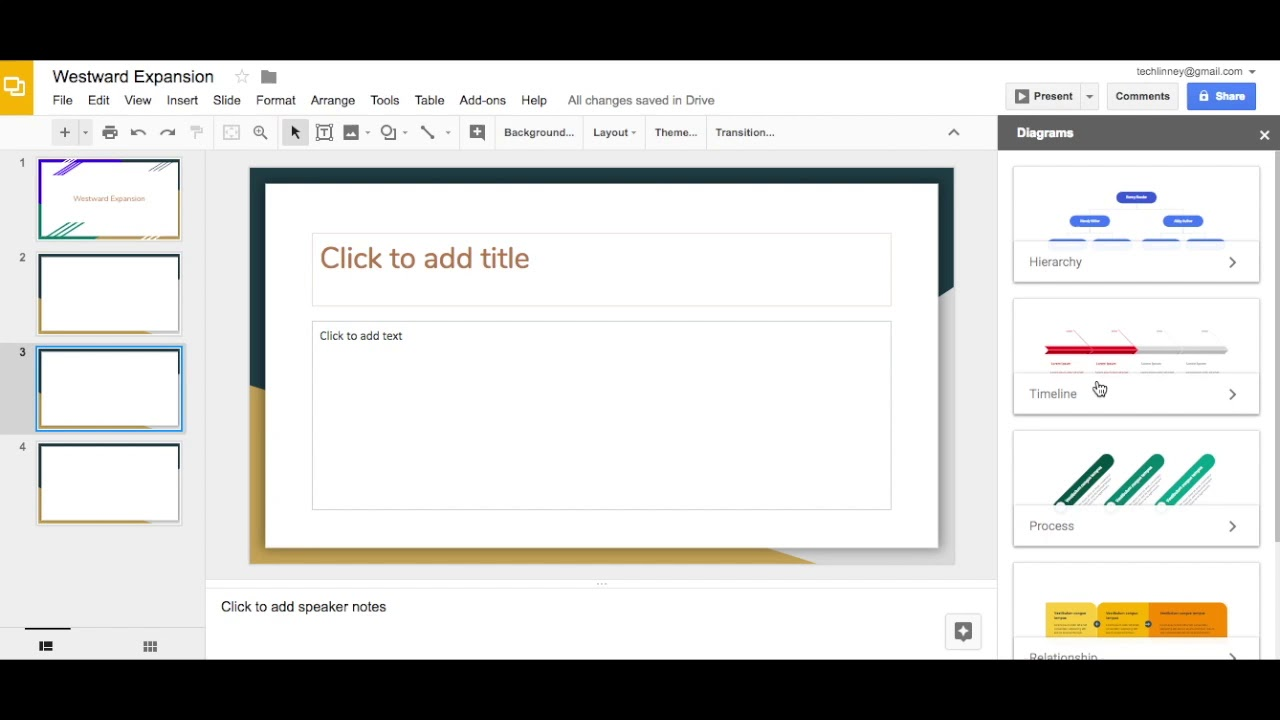 Inserting Timeline Into Google Slides YouTube - How to create a timeline on google docs