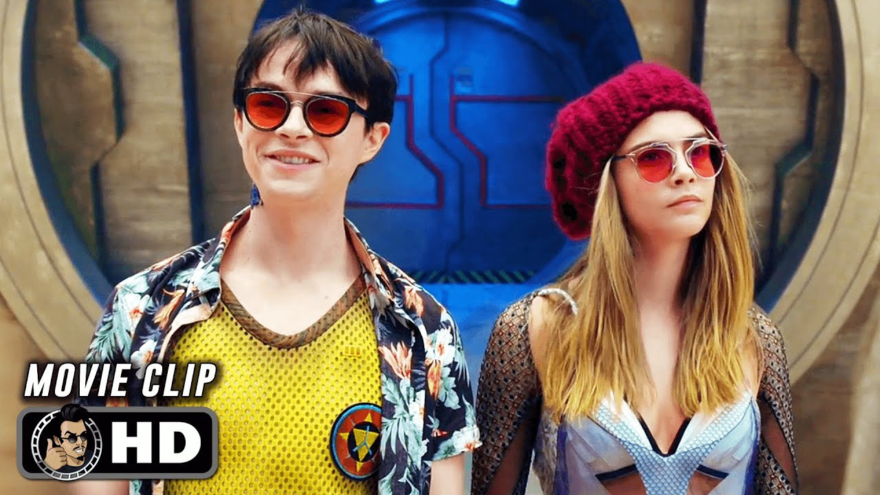 """Download VALERIAN AND THE CITY OF A THOUSAND PLANETS Clip - """"Big Market"""" (2017)"""