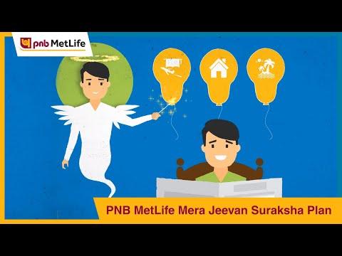 PNB MetLife Mera Jeevan Suraksha Plan - YouTube