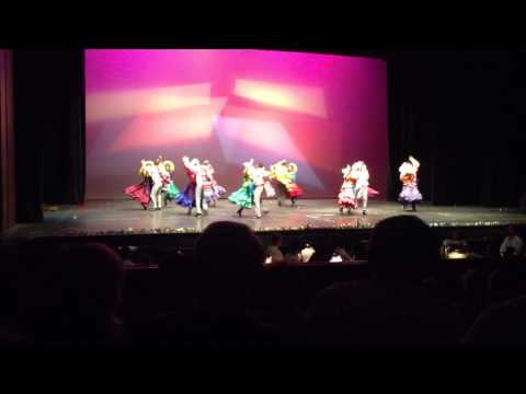 The Mexicans folk dance group. Revolution