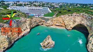 Algarve's hidden secret - Praia de Vale Covo - Vale Covo Beach - Secret Cave - 4K UltraHD