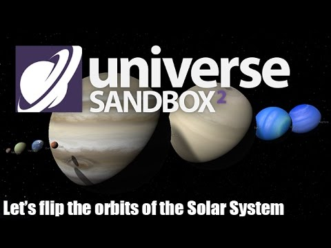 What Happens When we Flip the Solar System's Orbits?!