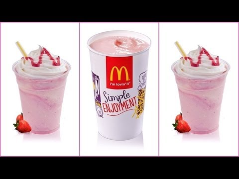 Bilderesultat for milkshake mcdonald