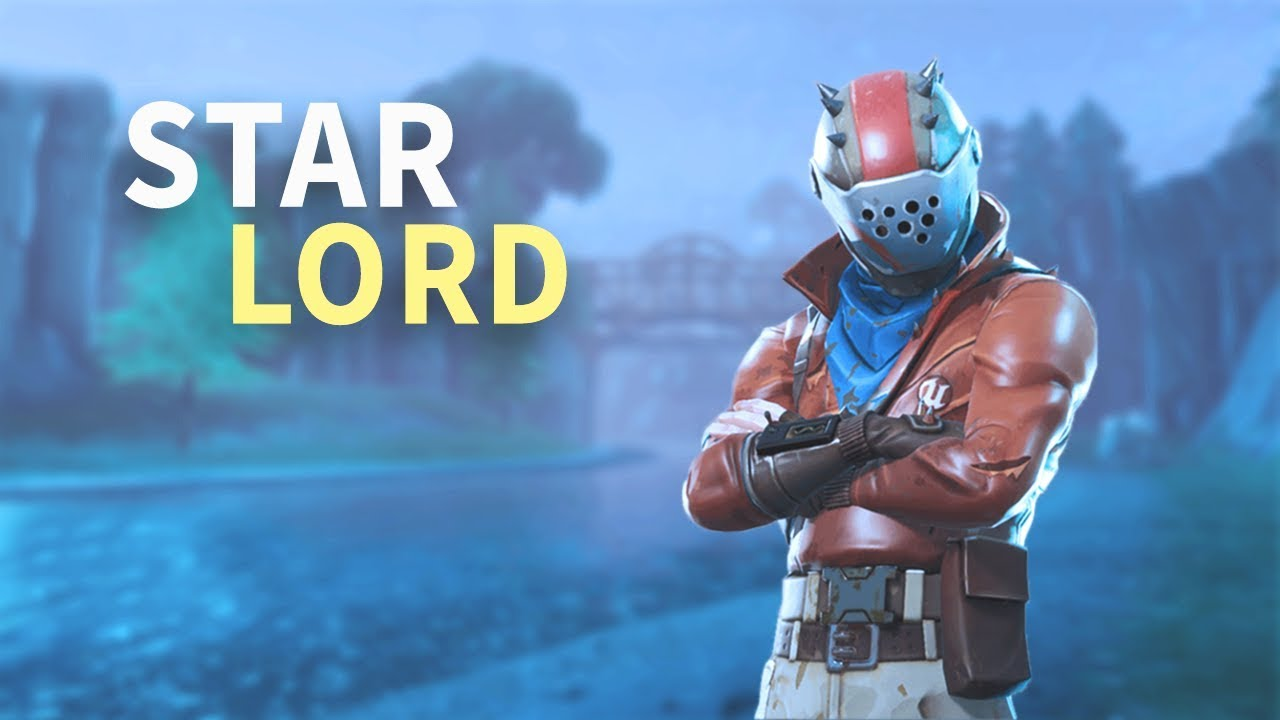 Star Lord Skin Rust Lord Fortnite Battle Royale Squad Gameplay
