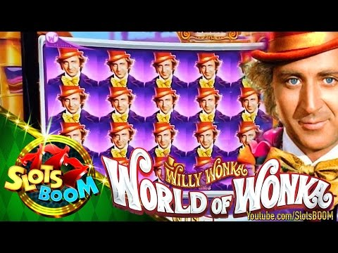World of Wonka !!! PLAY & BONUSES on 1c WMS Video Slot