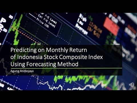 Forecasting Indonesia Monthly Composite Stock Index (IHSG) Return