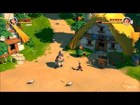 Asterix & Obelix XXL 3 - The Crystal Menhir Gameplay (PS4 HD) [1080p60FPS]