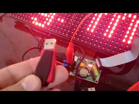 How to install a programmable LED sign board