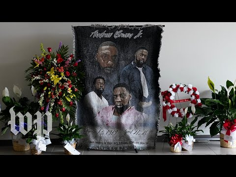 Funeral of Andrew Brown Jr. - 5/3 (Full live stream)