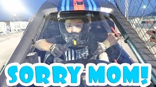 8 YEAR OLD RACES AT 100 MPH WITH THE DUDESONS!