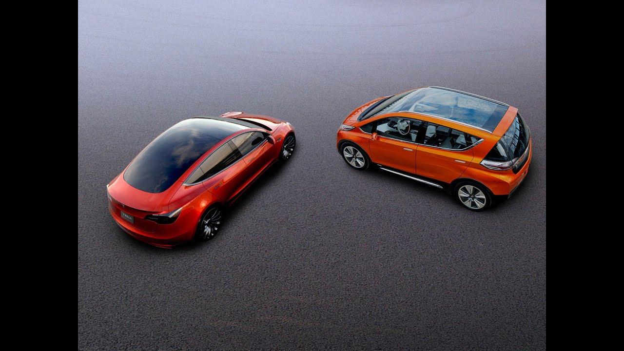Bolt EV or Tesla Model 3? What should you buy? - YouTube