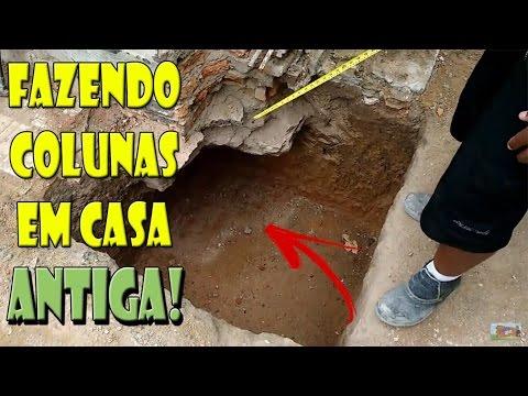 NOVIDADE SAPATAS DE UMA CASA ANTIGA PARA SOBRADO - PASSO A PASSO!