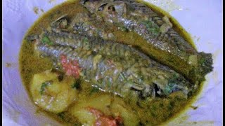 Hoplo (Hassar) Fish Curry