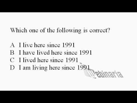 Grammar Quiz 8 - Grammar Exercise 8 - Test Your English - ESL British  English Pronunciation