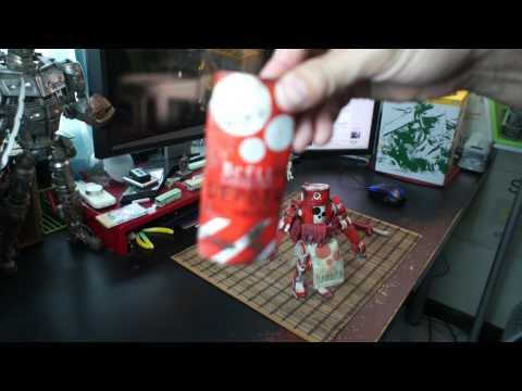 "3A 1/12th scale world war robot ""bcell logistics"" ""asu republic"" CASAR"