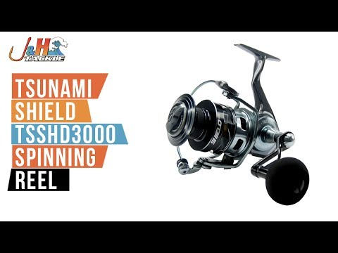 Tsunami Shield TSSHD3000 Spinning Reel | J&H Tackle
