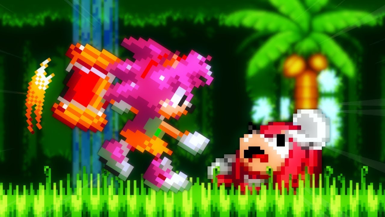 Sonic Hacks ✪ Amy in Sonic 3 & Knuckles (+ Super Transformation)