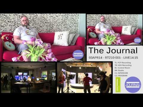 The Journal April 3 - INTERCOM + Control Room + Studio