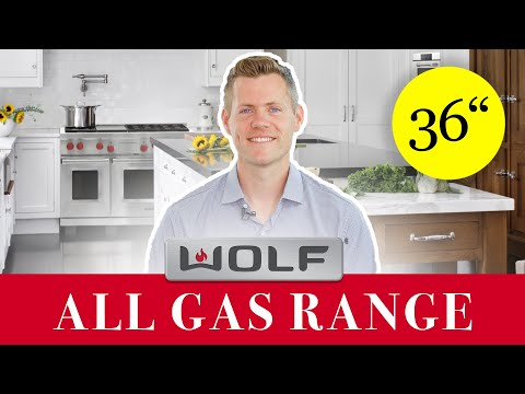 Wolf Range - All Gas GR366 With Griddle And Infared Charbroiler