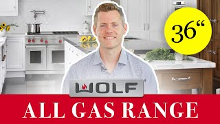 Wolf Range - GR366 Gas 36 Inch (with Griddle and Infared Charbroiler) [REVIEW]