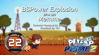 Gambar cover BSPower Explosion S22 | PUMP IT UP PRIME 2 (2018) Patch 2.05 ✔