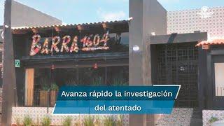 El fiscal Carlos Zamarripa informó que se han establecido algunas posibles identidades de quienes intervinieron en la elaboración y traslado del artefacto explosivo