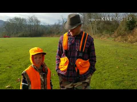RABBIT HUNTING IN NC WITH YOUTH