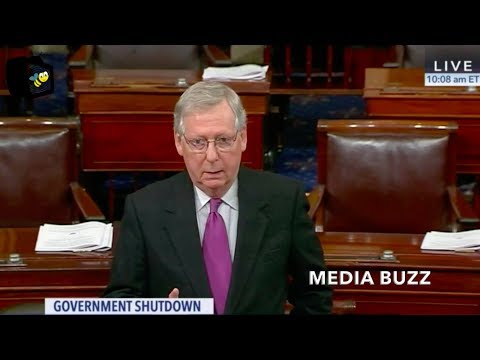 Mitch McConnell Commits to February Debate On Immigration Bill 1/22/18