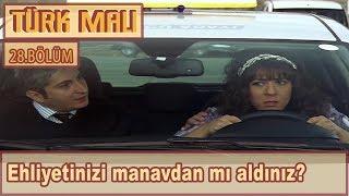 Araba kullanmayı öğrenen Abiye  Türk Malı 28Bölüm