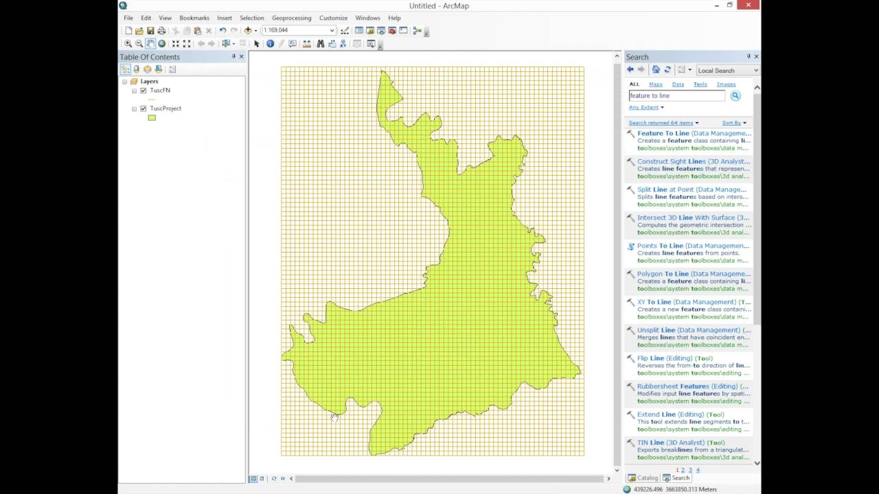 Finding Latitude And Longitude Of Points On A Map Using ArcMap - Map using latitude and longitude to find a place