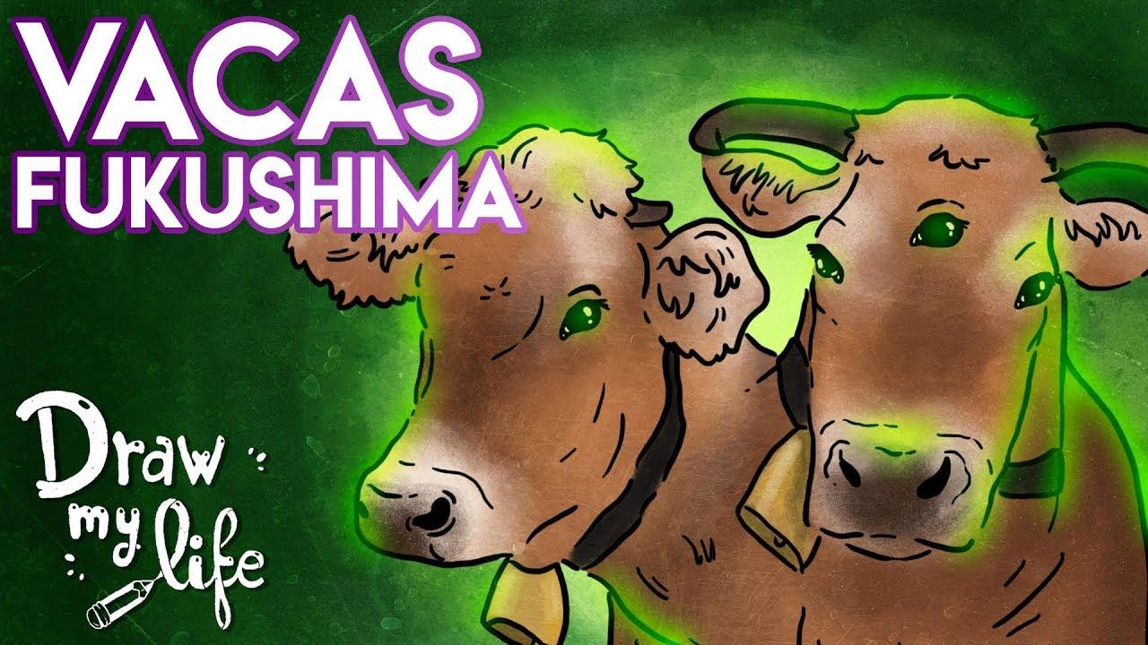 Las VACAS RADIACTIVAS de FUKUSHIMA, ¿EXISTEN? | Draw My Life