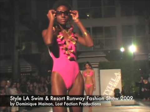 Style LA Swim and Resort Runway Show 2009