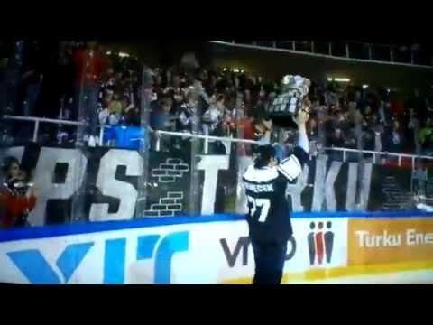 A-TPS- HPK 24.3.2015.  TPS:n koko kultajuhlat jäällä / kopissa & ottelun maalit!!