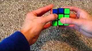 Solve the cube in less than one minute learning only 4 algorithms