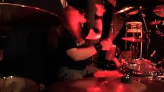 Thunderstone drumcam @ Blackpool, Järvenpää June 24th 2014. 10.000 Ways /  Tool of the devil