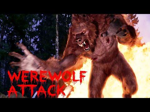 werewolf attack wagon scene - hunt frankenstein down - Van Helsing HD