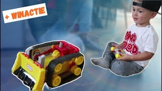 BULLDOZER + RACE AUTO CHALLENGE (LITTLE TIKES RC DOZER) | LAKAP JUNIOR