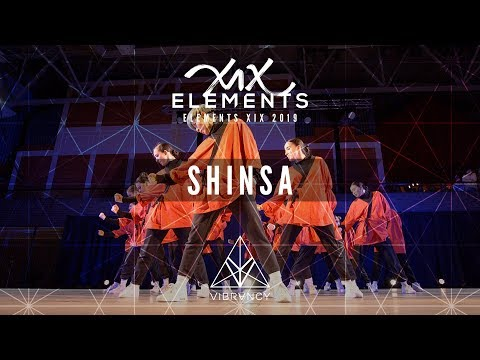 1st Place SHINSA  ELEMENTS XIX 2019 VIBRVNCY Front Row 4K