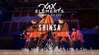 [1st Place] SHINSA | ELEMENTS XIX 2019 [@VIBRVNCY Front Row 4K]