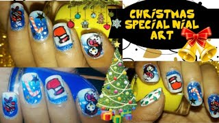 Christmas special nail art by shila