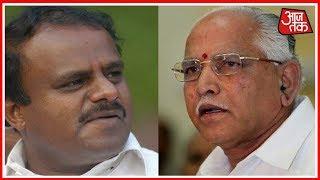 #ResultOnKarnataka कर्नाटक में सरकार बनाने के लिए जोड़-तोड़ शुरू...!