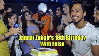 Jannat Zubair's Ishq Farzi & Birthday Party With Team 07 | Full Night Party