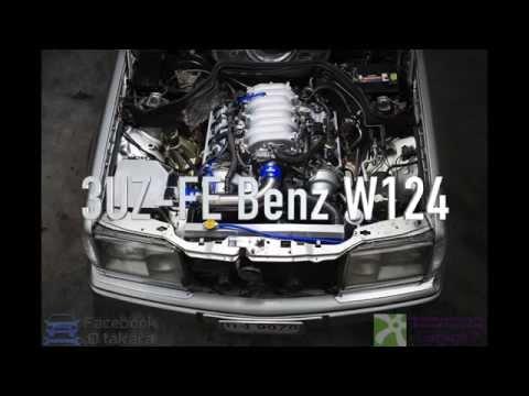 3UZ-FE @ Benz W124 E300 100-220 km/hr